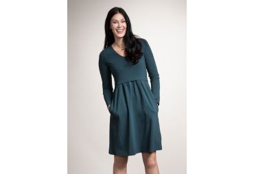 Robe de maternité Lotta Sea green
