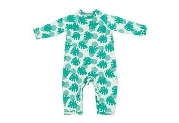 Pyjama en jacquard Palm leaves