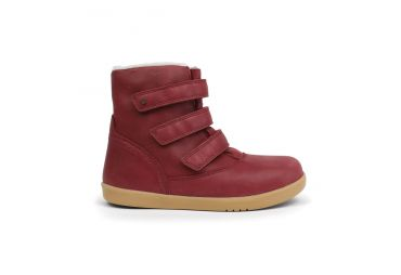 BOBUX kid aspen boot dark red