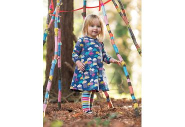 FRUGI-Collants lignes multicolors