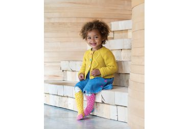 FRUGI cardigan moutarde