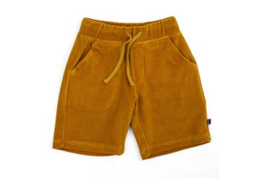 FROY DIND E19 short velours moutarde