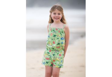 FRUGI E19 combi-short tracteur tropical