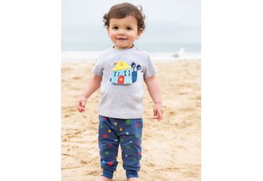 FRUGI E19 t-shirt bouton escargot