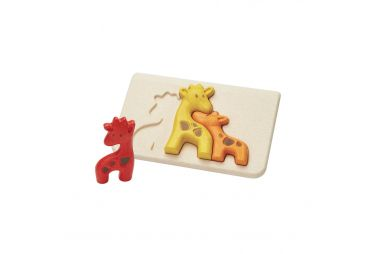 PLAN TOYS puzzle girafe 4634