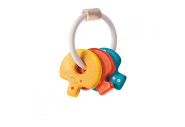 PLAN TOYS hochet clefs bébé 5217