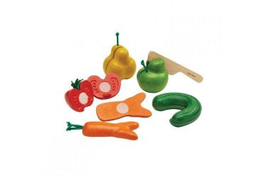 PLAN TOYS fruit & veggie set 2246