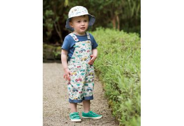 FRUGI E19 salopette tropical tresco