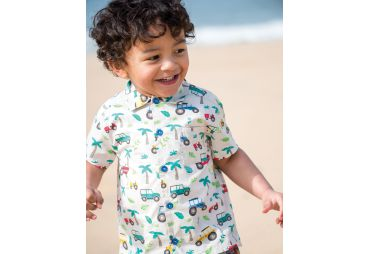 FRUGI E19 chemise tropical tresco