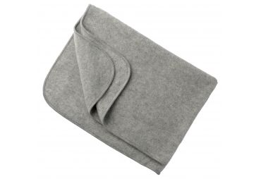 ENGEL couverture laine fleece gris
