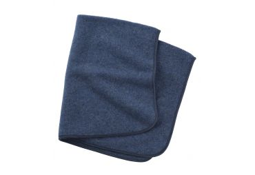 ENGEL couverture laine fleece bleu marin