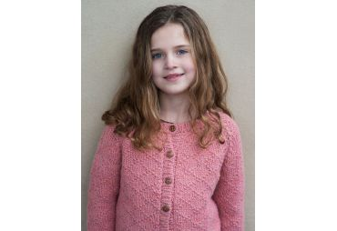 SERENDIPITY H19 cardigan laine roseclay