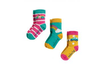 FRUGI H19 chausettes multipack rainbow