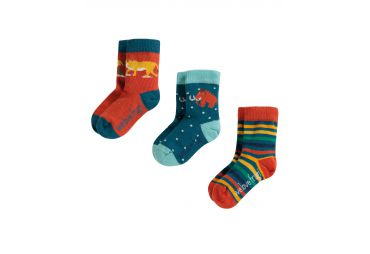 FRUGI H19 chaussettes 3 pack prehistoric
