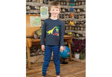 FRUGI H19 pyjama 2 pcs space blue dino