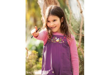 FRUGI H19 t-shirt flamingo pointelle