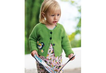 FRUGI H19 cardigan meadow finch